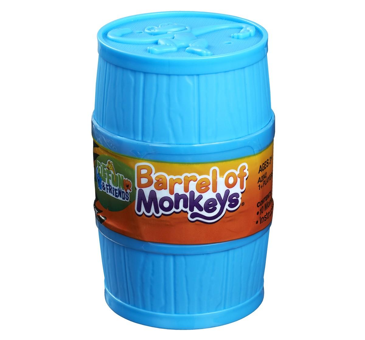 Hasbro Barrel Of Monkeys Game for Kids age 3Y+