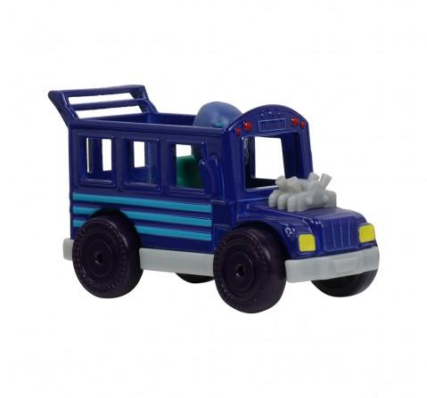Pj Masks Single Pack Night Ninja Bus Activity Toys for Boys age 3Y+ (Blue)