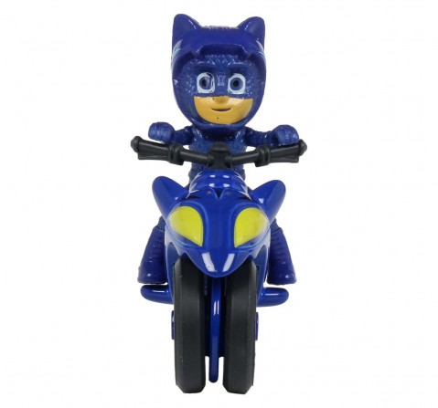 Dickie Pj Masks Single Pack Cat Boy Moon Rover Activity Toys for Boys Age 3Y+ (Blue)