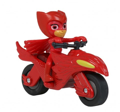 Dickie Pj Masks Single Pack Owlette Moon Rover Activity Toys for Boys Age 3Y+ (Red)