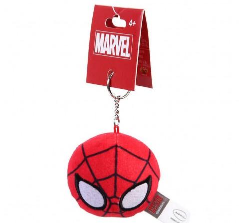 Marvel Spiderman Plush Round Keychain , 12Y+