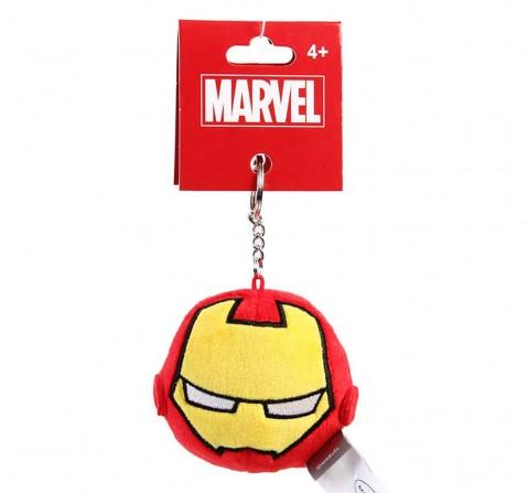 Marvel Ironman Plush Round Keychain , Red, 12Y+