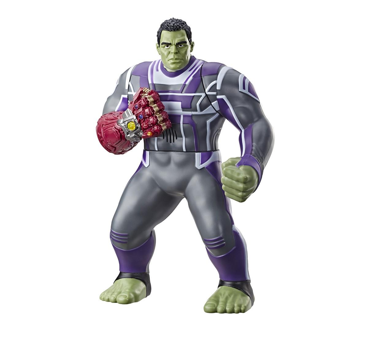 Marvel Avengers: Endgame Power Punch Hulk 13.75-Inch Action Figures for Kids age 4Y+