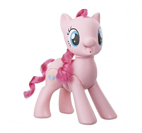 My Little Pony Toy Oh My Giggles Pinkie Pie -8-Inch Interactive Toy With Sounds And Movement Collectible Dolls for Girls age 3Y+