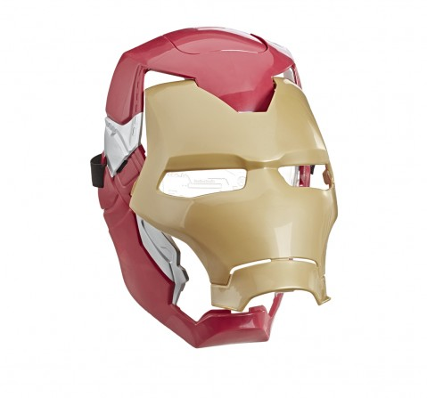 Marvel Avengers Iron Man Flip Fx Mask Action Figure Play Sets for Kids age 5Y+