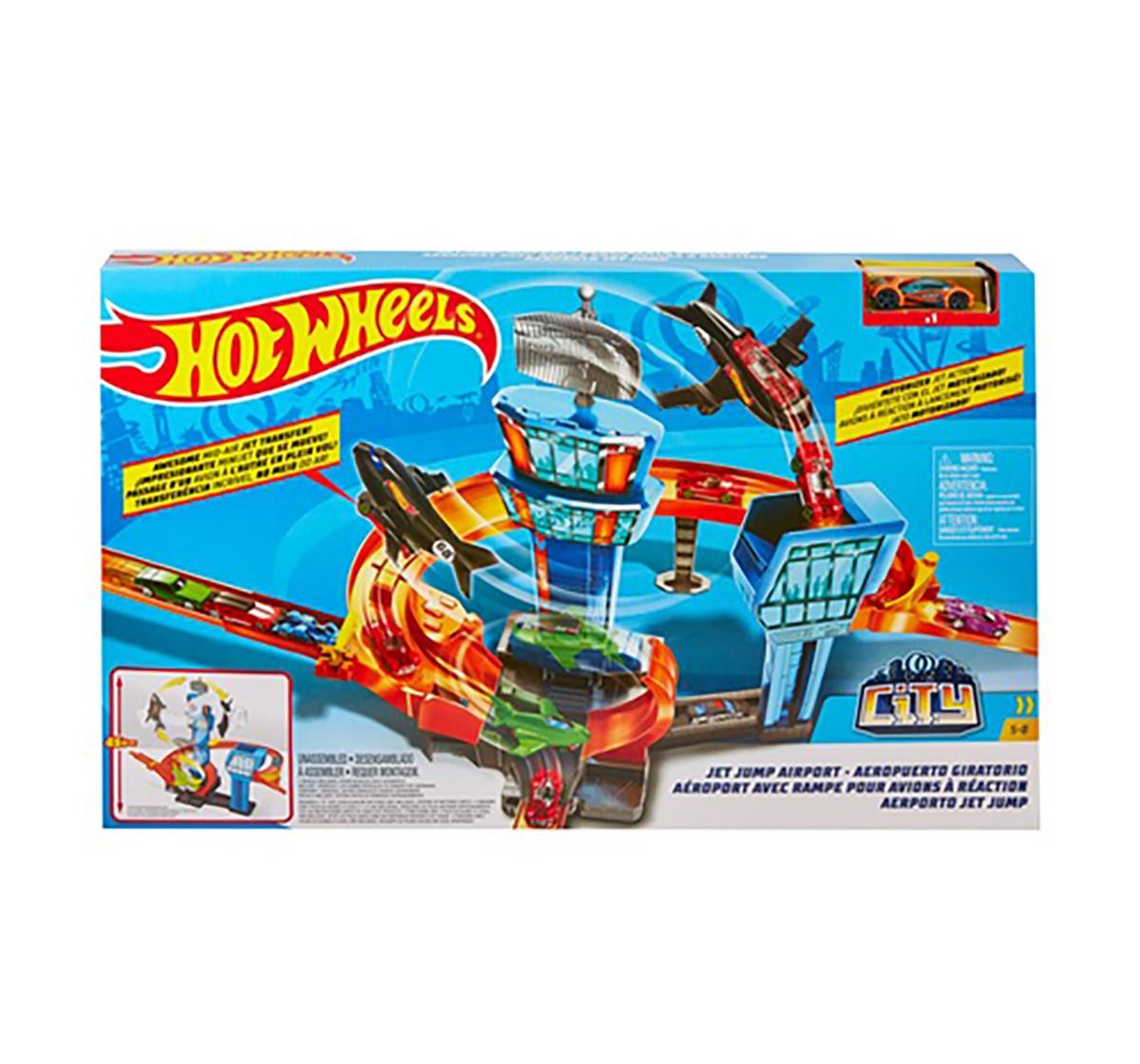 Hotwheels Motorized Jet Set Tracksets & Train Sets for Kids age 5Y+