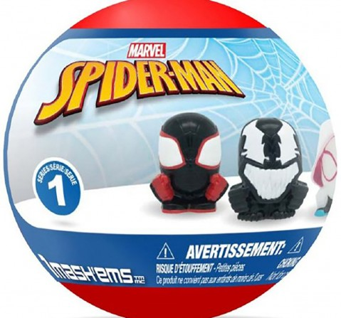 Mega Mash'Ems Squishy Spiderman S1 Toy Figures for Kids age 4Y+