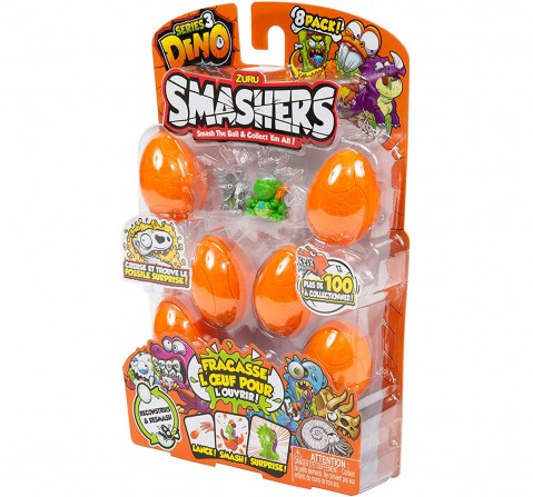 Smashers 7438 Series 3 Toy, One Size Novelty for Kids age 4Y+ (Orange)