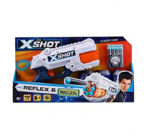 Zuru X-Shot Excel Reflex 6 Blasters for Kids age 8Y+