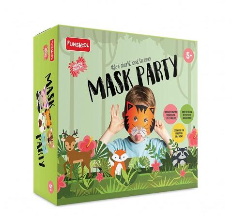Funskool - Handycrafts Mask Party DIY Art & Craft Kits for Kids age 5Y+