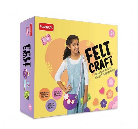Funskool - Handycrafts Felt Craft DIY Art & Craft Kits for Girls age 5Y+