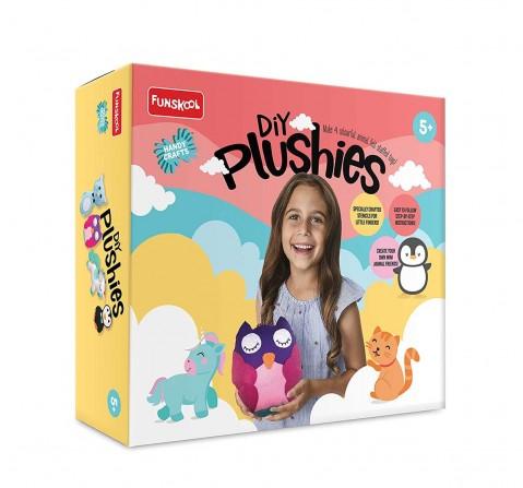 Handycrafts Funskool - DIY Plushies, Art & Craft Kits for Girls age 5Y+