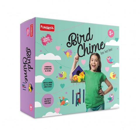 Funskool - Handycrafts Bird Chime DIY Art & Craft Kits for Girls age 5Y+