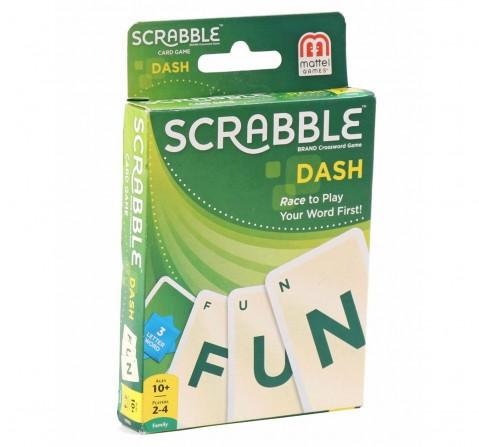 Mattel Scrabble Dash Card Game, Games for Kids age 10Y+