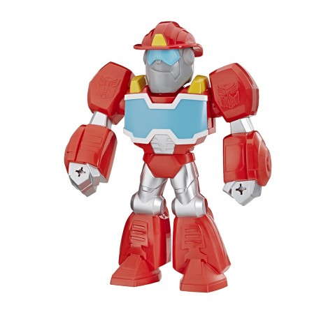 Playskool Heroes Transformers Rescue Bots Academy Mega Mighties Heatwave The Fire-Bot Activity Toys for Kids age 3Y+