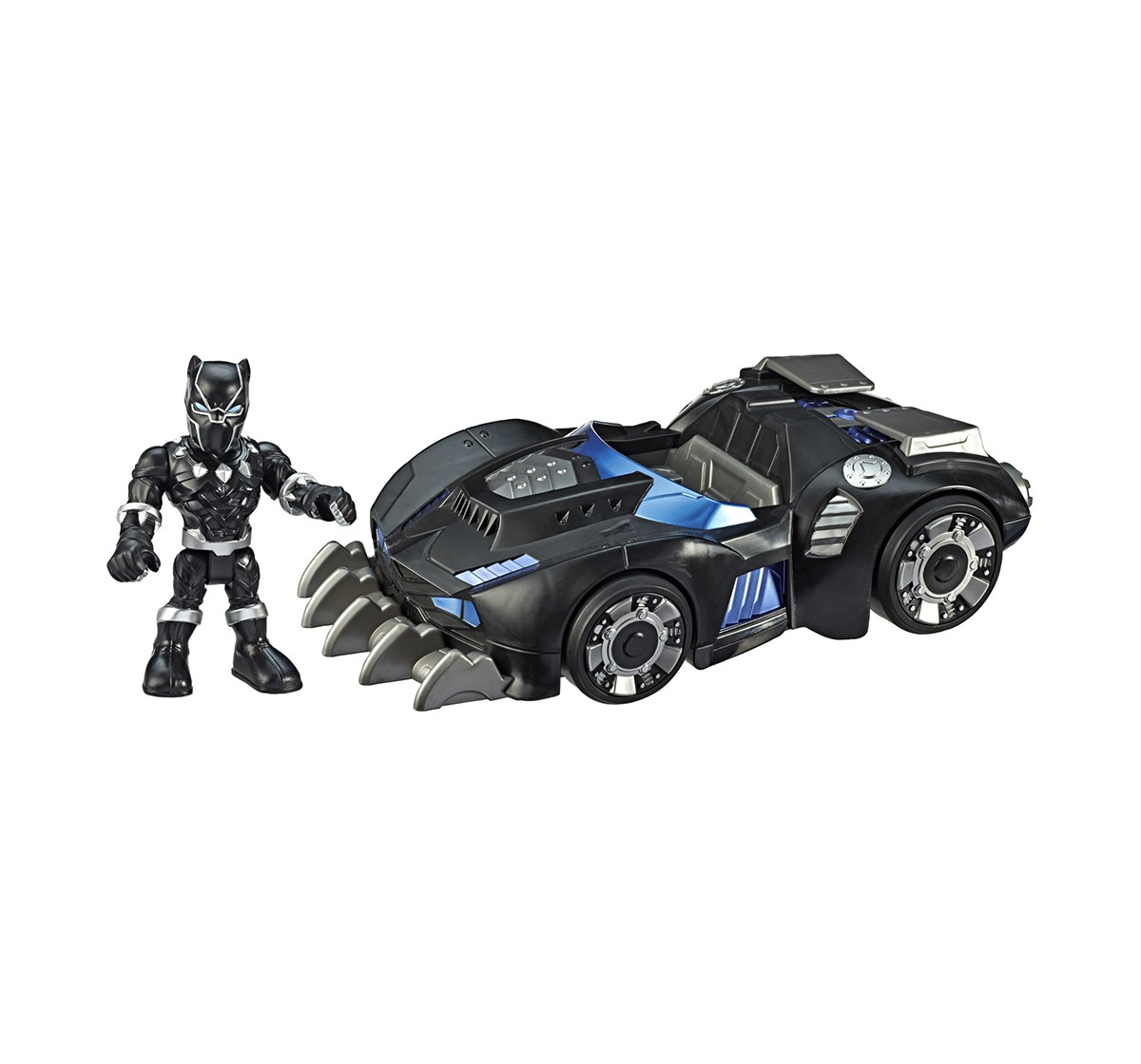 Superhero Adventure Black Panther Road Racer Assorted Activity Toys for Boys age 3Y+ (Black)