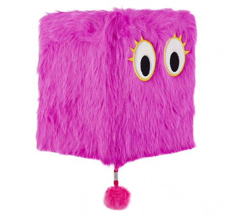 Mirada  Fluffy Plush Study & Desk Accessories for Kids age 3Y+ (Pink)