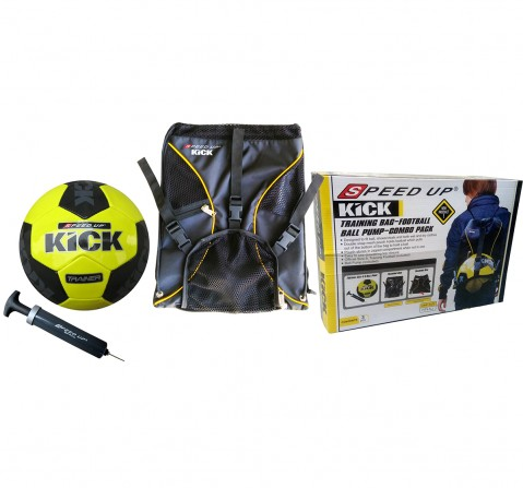 Speed Up Football Bag Combo Set for Kids age 3Y+