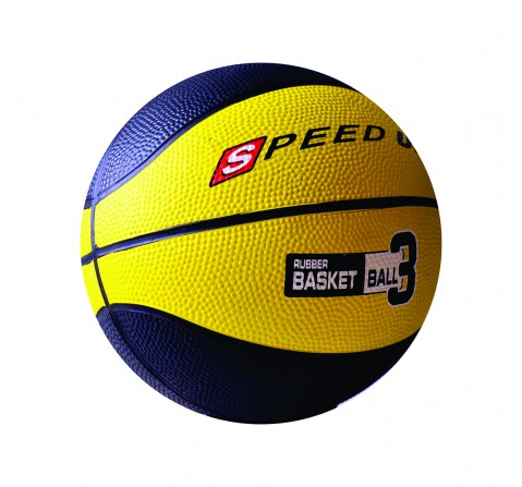 Speed Up Rubber Basketball Size 3 for Kids age 10Y+