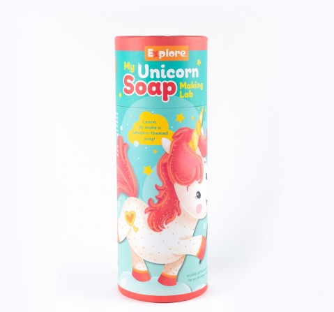Explore - My Unicorn Soap Making Lab Science Kits for Kids Age 6Y+