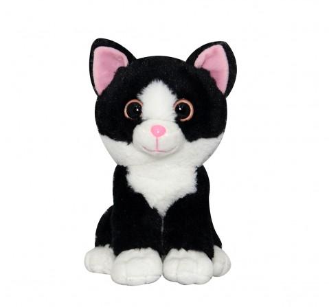 Softbuddies Big Eye Cat, Quirky Soft Toys for Kids age 3Y+ 30 Cm
