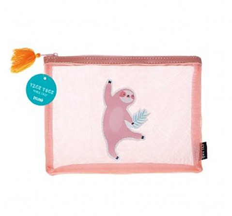Syloon Llama Single Zipper Mesh Pouch Sloth Pencil Pouches & Boxes for Kids age 3Y+