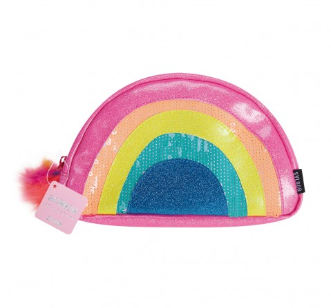Syloon Rainbow - Glitter Make Up Pouch Pencil Pouches & Boxes for Kids age 5Y+