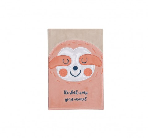 Syloon Sloth Llama - Sloth Fluffy A5 Notebook Study & Desk Accessories for Kids age 5Y+