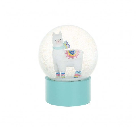 Llama Snowglobe with Beads Study & Desk Accessories for Kids age 5Y+
