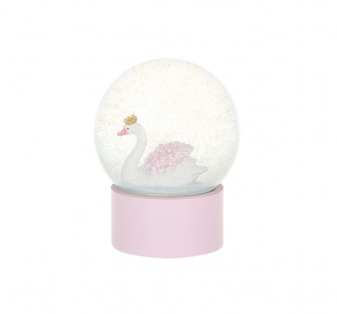 Syloon Tropical - Pink Swan Snow Globe Study & Desk Accessories for Kids age 5Y+