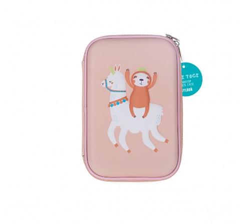 Syloon Sloth Llama - Single Zipper Eva Pouch Pencil Pouches & Boxes for Kids age 5Y+