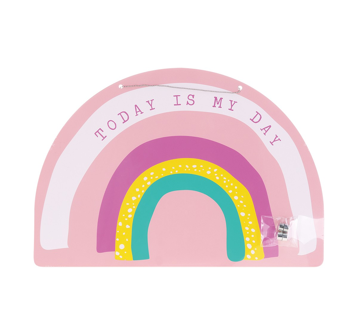 Syloon Rainbow - Metal Message Board With Magnets Activity Table & Boards for Kids age 5Y+