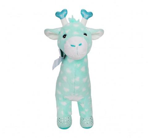 Fuzzbuzz Giraffe Stuffed Animal - Blue - 48Cm Quirky Soft Toys for Kids age 0M+ - 18 Cm (Blue)