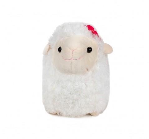 Fuzzbuzz White Lamb Stuffed Animal - 43Cm Quirky Soft Toys for Kids age 0M+ - 29 Cm (White)