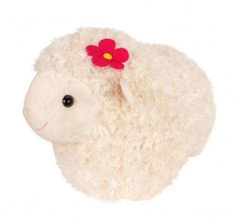 Fuzzbuzz Cream Lamb Stuffed Animal - 43Cm Quirky Soft Toys for Kids age 0M+ - 29 Cm (Cream)