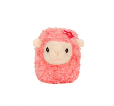 Fuzzbuzz Pink Lamb Stuffed Animal - 28Cm Quirky Soft Toys for Kids age 0M+ - 20 Cm (Pink)