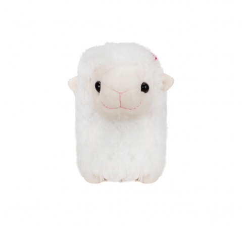 Fuzzbuzz White Lamb Stuffed Animal - 28Cm Quirky Soft Toys for Kids age 0M+ - 20 Cm (White)
