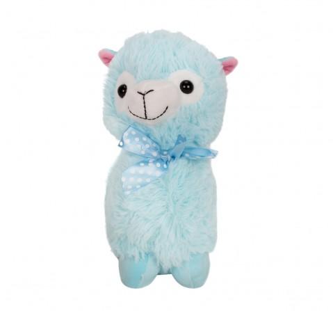 Fuzzbuzz Llama Stuffed Plush Toy - Blue - 28Cm Quirky Soft Toys for Kids age 0M+ - 28 Cm (Blue)