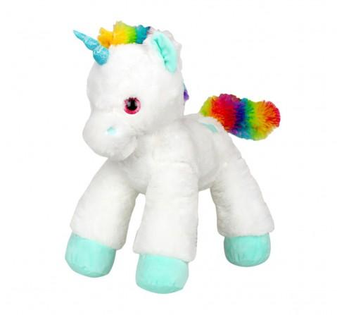 Fuzzbuzz Lying Unicorn Plush - White - 53Cm Quirky Soft Toys for Kids age 0M+ - 28 Cm (White)
