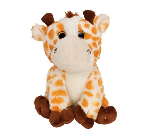 Fuzzbuzz Sitting Giraffe - 25Cm Quirky Soft Toys for Kids age 0M+ - 25 Cm (Beige)