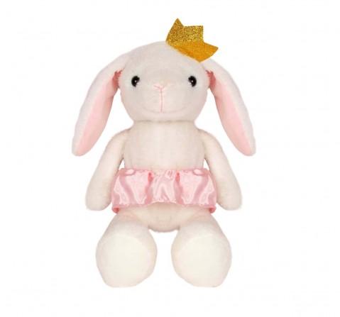 Fuzzbuzz Rabbit Soft Plush Toy - White - 40Cm Quirky Soft Toys for Kids age 0M+ - 10 Cm (White)