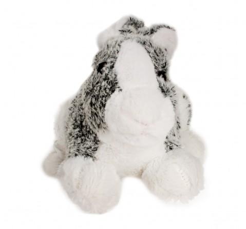 Fuzzbuzz Soft Furry Bunny - Grey - 25Cm Quirky Soft Toys for Kids age 0M+ - 18 Cm (Grey)