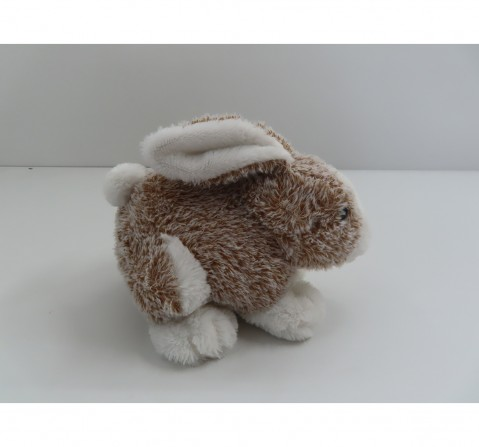 Fuzzbuzz Soft Furry Bunny - Brown - 25Cm Quirky Soft Toys for Kids age 0M+ - 18 Cm (Brown)