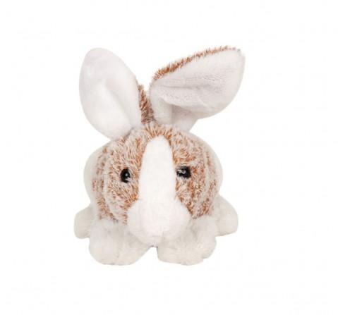 Fuzzbuzz Soft Furry Bunny - White - 25Cm Quirky Soft Toys for Kids age 0M+ - 18 Cm (White)