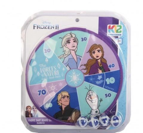 Disney Frozen 2 Fabric Dartboard Set Indoor Sports for Kids Age 3Y+