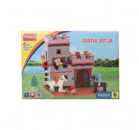 Peacock Sb Castle Set Generic Blocks for Kids age 6Y+