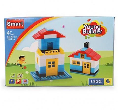 Peacock Toys Young Builder, Unisex, 4Y+ (Multicolour)