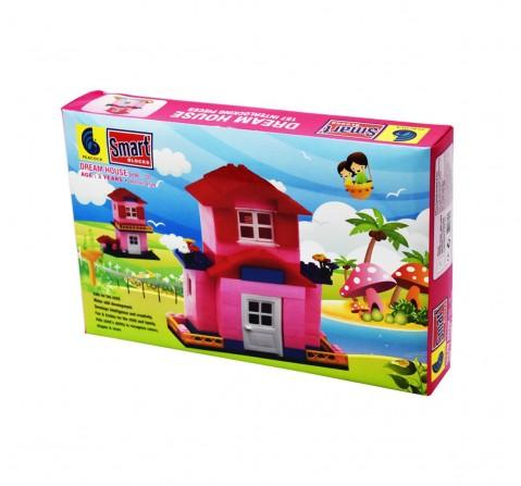 Peacock Smart Dream House 127 Pcs Generic Blocks for Kids age 3Y+