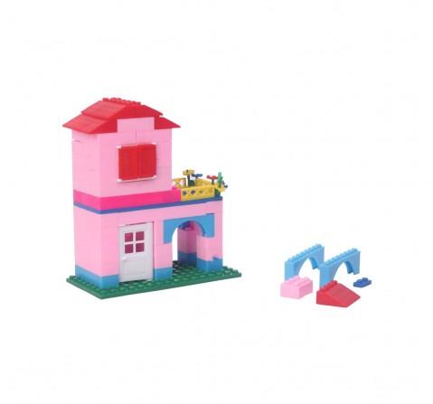Peacock Smart Dream House 135 Pcs Generic Blocks for Kids age 5Y+
