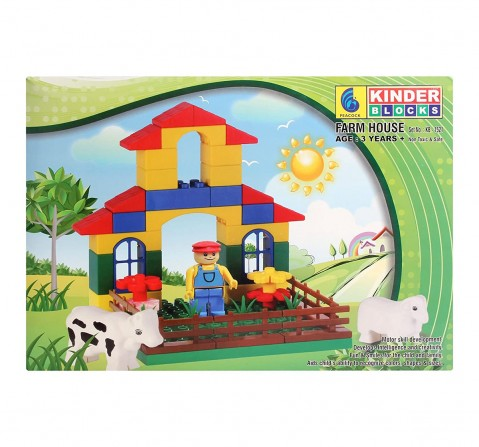 Peacock Kinder Farm House Generic Blocks for Kids age 3Y+